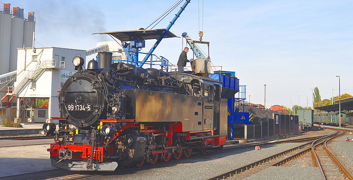 Weißeritztalbahn - TÄGLICH UNTER DAMPF - Bahnnostalgie Deutschland